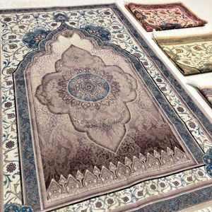 Image 3 - האסלאמי תפילת שטיח שטיח תפילה מוסלמי JaNamaz סאלאט Sajadah Seccade עיד אל adha