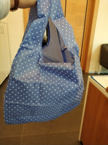 Waterproof Oxford Reusable Shopping Bags Women Foldable Tote Bag Portable Cloth Eco Grocery Bag Folding Large Capacity Handbags photo review