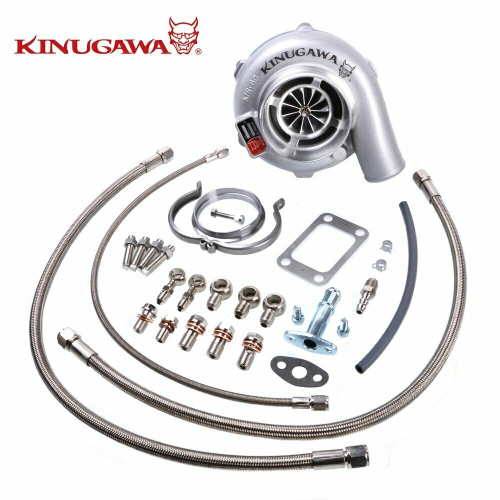 Kinugawa GTX Ball Bearing Turbocharger 4 Anti Surge GTX3076R T3 V-Band for NISSAN RB20DET RB25DETKinugawa GTX Ball Bearing Turbocharger 4 Anti Surge GTX3076R T3 V-Band for NISSAN RB20DET RB25DET