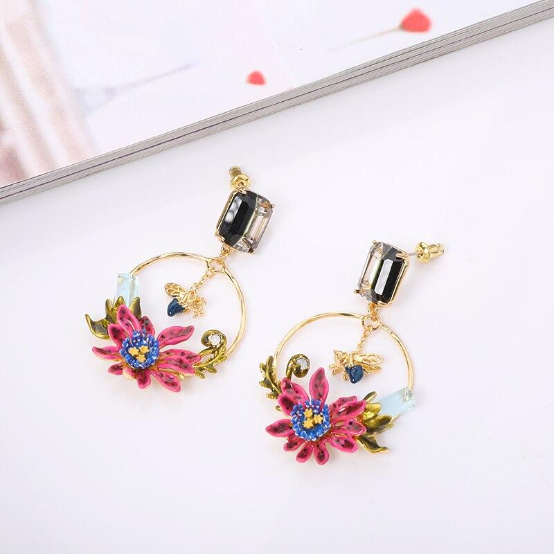 enamel earring (2)