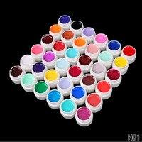 36 Kolory/Set Wysoka Jakość rozkoszować się Polski Paznokci UV do paznokci lampa UV Kolorowe Gule Stałe Czysty Kolor Lakieru Do Paznokci Paznokci Art