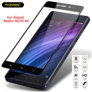 Xiaomi Redmi NOTE4X screen no white side plate two strong tempered glass film