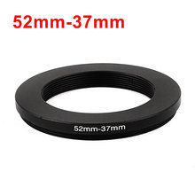 UXCELL Suitable Model 52Mm-37Mm 52Mm To 37Mm Black Aluminum Digital camera Step Down Lens Adapter Connector Filter Ring common