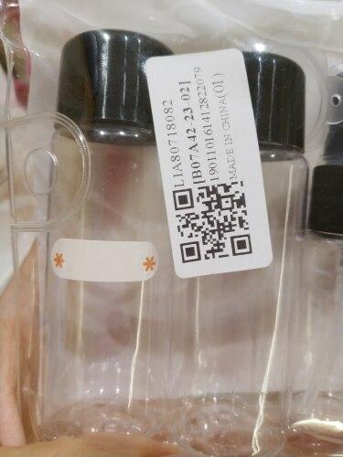 размер путешествия ; размер путешествия ; шампунь бутылка размер ; Материал: черный пластик;