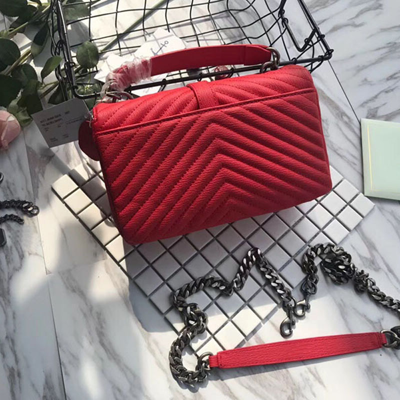 Paris sac a main femme de marque luxury cuir veritable 2018 de marque sac femme createur ys sac woman hand bags message bag