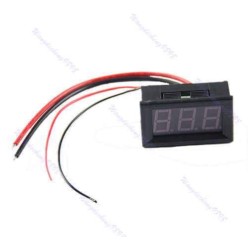 OOTDTY 2019 ampères LED ampères panneau compteur DC0-10A 3Bit affichage pas besoin Shunt ampèremètre numérique MAR18_15