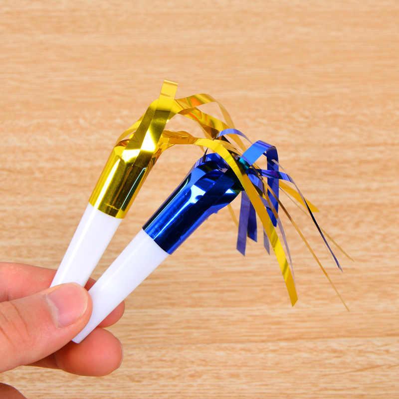 6 шт. яркие свистки вечерние дующие драконы Filamentous Blowout детские игрушки на день рождения подарки Черлидинг добавить в веселье