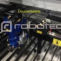 CE Standard Ruida Controller 150w 180w 280w Dual Heads Metal Laser Cutting Engraving Machine 1390