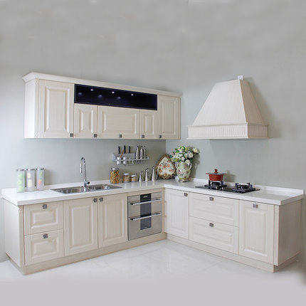 US $650.0 |Modulare Design del Cabinet In Acciaio Inox Armadio Da Cucina  Foshan-in Mobili da cucina da Miglioramento della casa su AliExpress