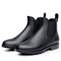 Autumn Shoes Woman Casual Shoes Waterproof Rainboots Spring Outdoor Rainy Shoes Girls Ankle Boots Water Shoes Botines Mujer 2019