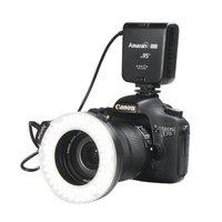 Aputure HN100 CRI 95 + LED Macro Ring Flash Light cho Nikon D7100 D5200 D800 D610 D90 DSLR Máy Ảnh Nhấp Nháy LED Ảnh ánh sáng