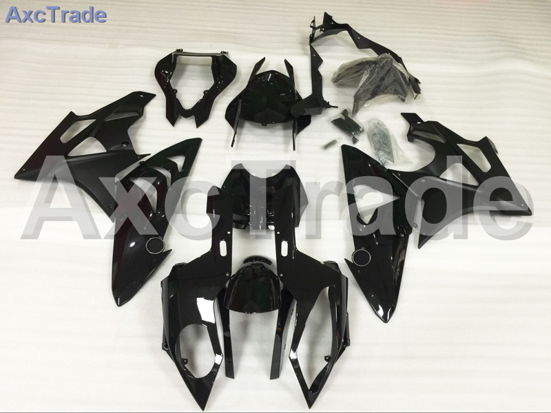 Мотоцикл Обтекатели для BMW S1000RR С1000 2012 2013 2014 12 13 14 ABS пластичная впрыска Обтекателя кузова комплект черный A466