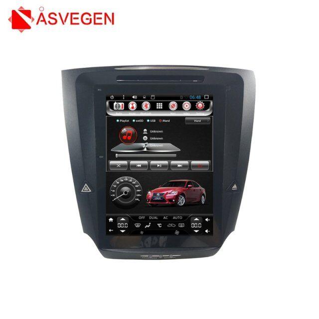Lecteur multimédia de voiture de Style Telsa pour Lexus IS250 IS300 IS350 Android 7.1 Ram 2G Rom 32G 10.4 pouces lecteur vidéo stéréo de voiture