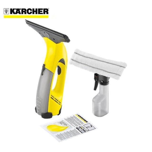 Пылесос для очистки стекол KARCHER WV 50 Plus (Пылесос для влажной уборки стекол, Li-Ion аккумулятор, время зарядки аккумулятора 120 мин)