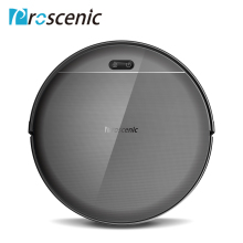 Proscenic 800T Robot Vacuum Cleaner Big Dust Box Water Tank Wet Mopping App Control Auto Charge 1800Pa Suction Robotic Vacuum цена
