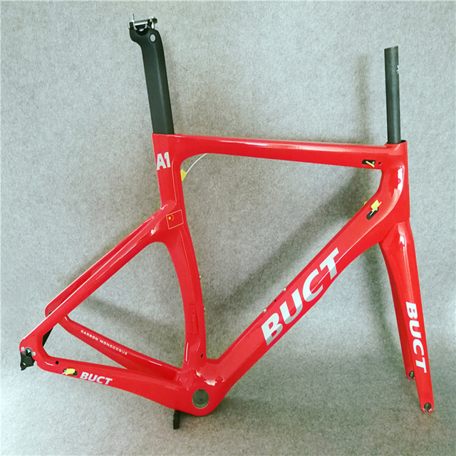 4ab65864313 China Red painted T1000 3K 1K CARROWTER bicycle Cipollini NK1K carbon road  bike frame with BB68 BB30 Matte Glossy