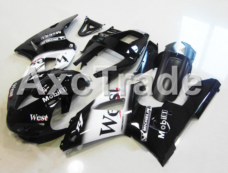 Motorcycle Fairings Kits For Yamaha YZF1000 YZF 1000 R1 YZF-R1 1998 1999 98 99 ABS Injection Molding Fairing Bodywork Kit B1016 custom motorcycle fairing kit for kawasaki ninja zx9r 1998 1999 zx9r 98 99 black flames blue abs fairings set 7 gifts sg10