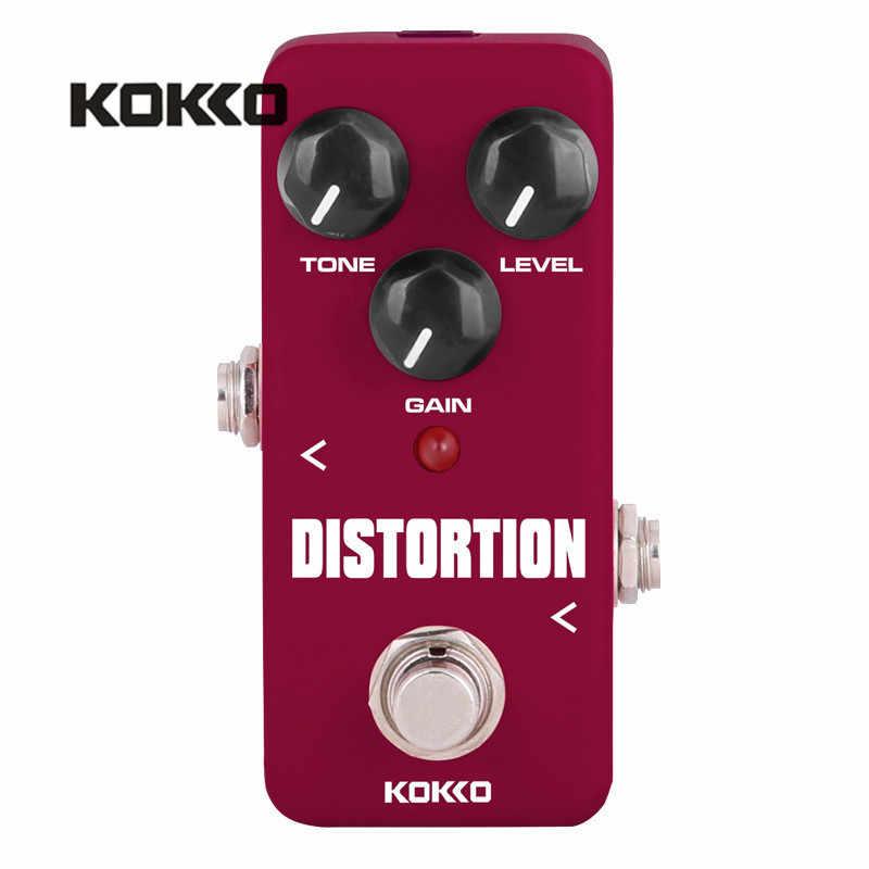 KOKKO FDS2 مصغرة الكهربائية باس الغيتار دواسة دي تشويه القيثارة الآثار المحمولة أجزاء Efectos Alta calالشراء