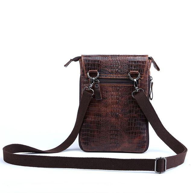 Small Shoulder Bag for Men