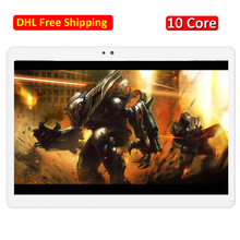 4G LTE Tablet PC 10 Core Android 7.0 4 GB RAM 64/128 GB ROM Dual SIM Tarjeta WIFI 2.4/5.0 GHz 1920×1200 IPS HD GPS Bluetooth 4.0 9 10