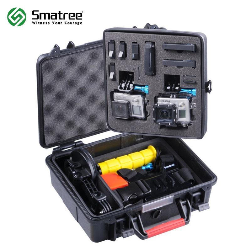 Smatree SmaCase GA500 Rígida À Prova D' Água Bolsa Carry Case para Gopro Hero 6,5, 4, 3 +, 3, 2, 1 Caso Difícil de Proteção