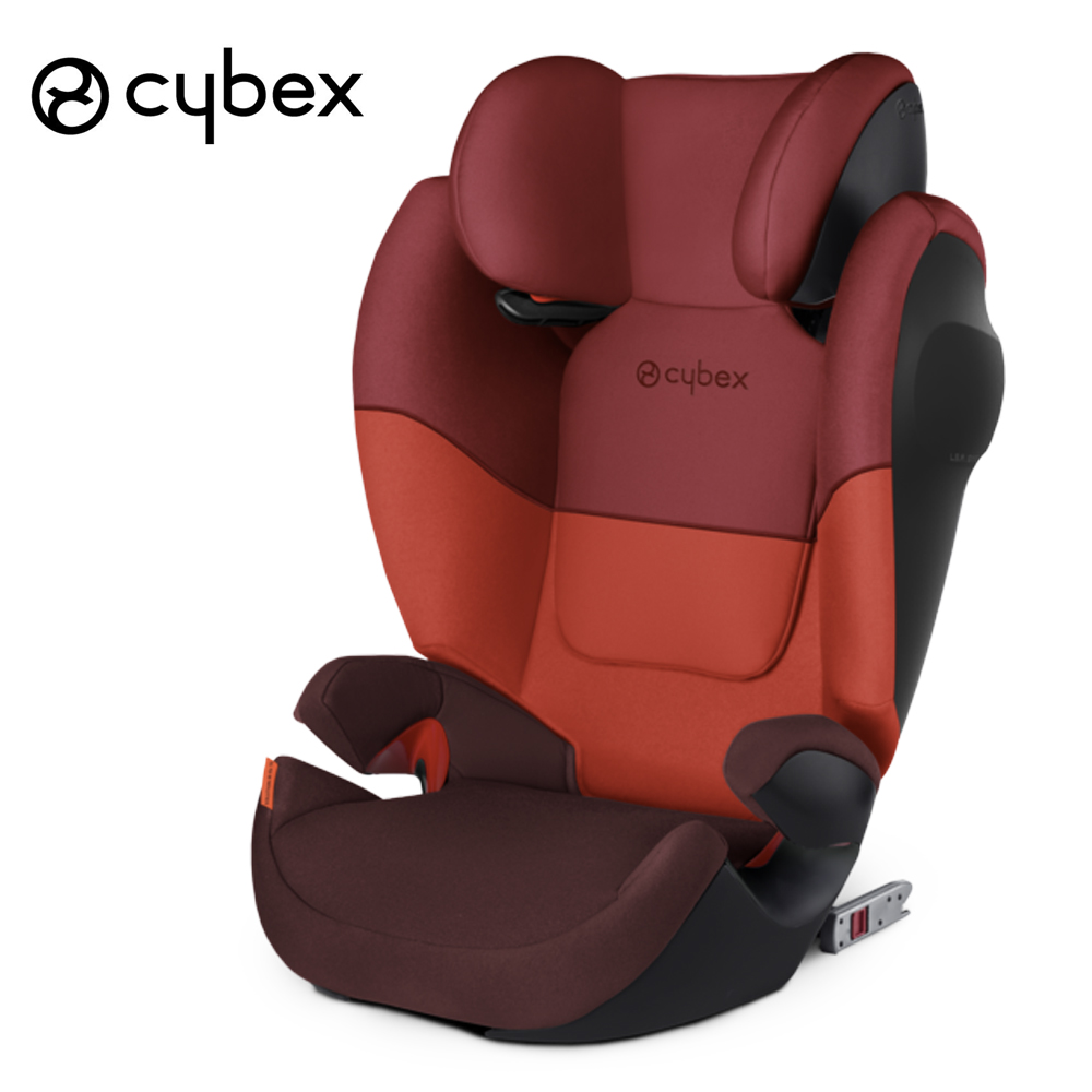 Child car safety seat Cybex Solution M-Fix SL 2/3 15-36 kg 3 up to 12 years Isofix chair baby car seat Kidstravel group 2/3