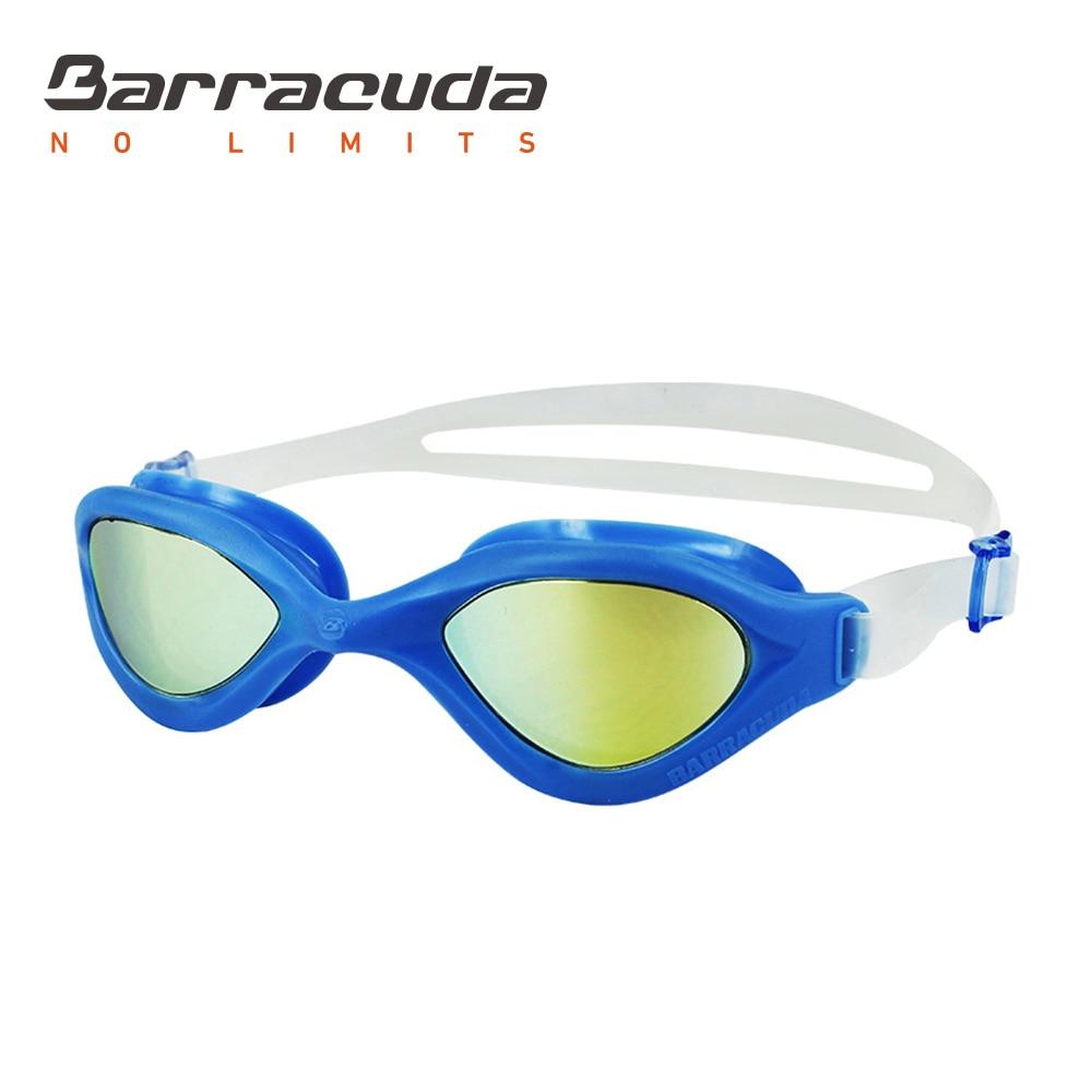 Plavecké brýle Barracuda BLISS MIRROR Anti-fog UV ochrana Anti-oslnění Lehký triatlon otevřená voda pro dospělé # 73310