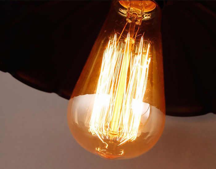 Лофт Эдисон Винтаж Настенные светильники E27 приспособление ретро кухня настенный светильник простой проход светильник для прихожей металлические абажуры бра