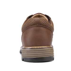 Image 4 - CAMEL Men Tooling Shoes Autumn Geunine Leather Martin Shoes Mens Trend Fashion Outdoor Casual Mens Shoes