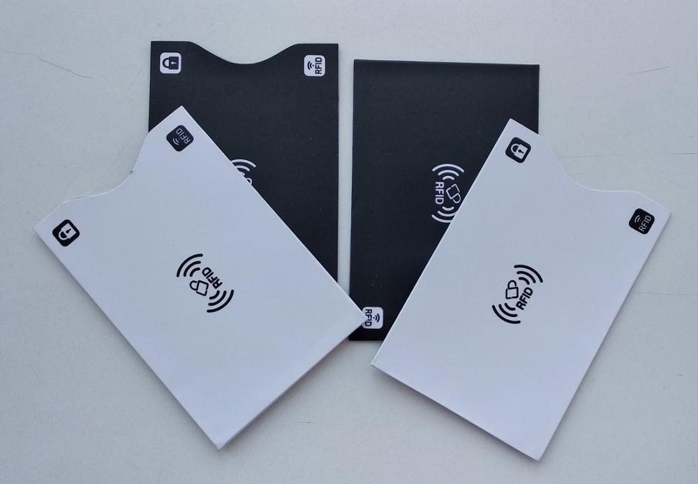 2PCS RFID Kaarthouder Bescherm Case Aluminium RFID Blokkering Bank Anti dief Portemonnee Creditcards Case Veiligheidslezer Smart Shield photo review