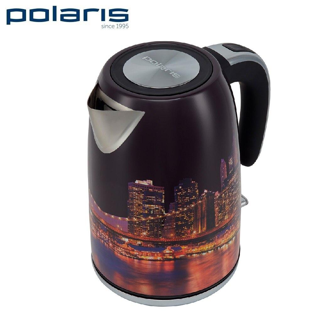 Kettle Polaris PWK 1853CA City Kettle Electric Electric kettles home kitchen appliances kettle make tea Thermo electric kettle polaris pwk 1794c golf