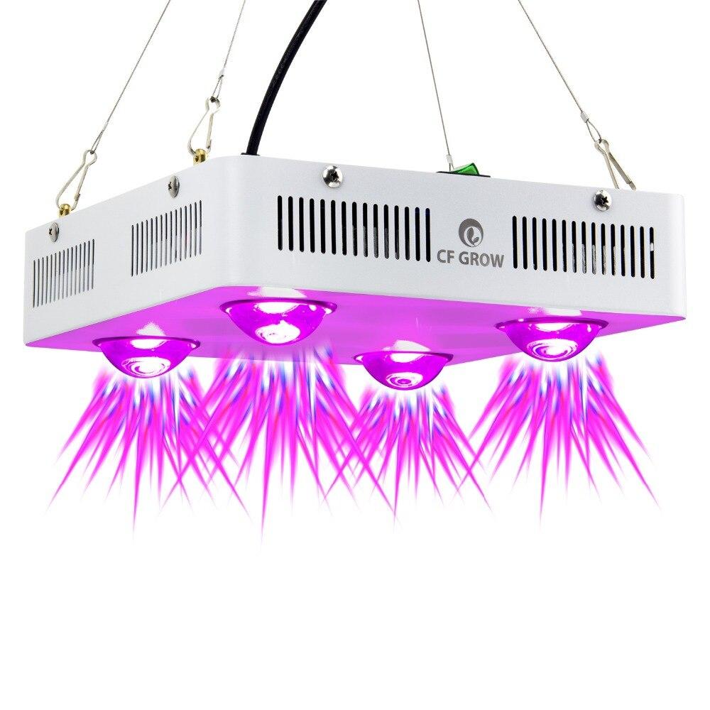 CF grandir 600 W COB LED grandir lumière spectre complet intérieur hydroponique serre plante croissance éclairage remplacer UFO lampe de croissance