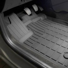 Для Renault Logan 2014-2018 резиновые коврики в салон 5 шт./компл. Rival 64702001