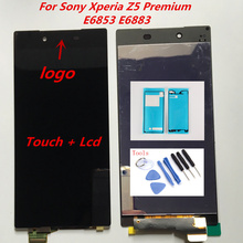 5.5 inch Original Screen For SONY Xperia Z5 Premium LCD Display Touch Screen Digitizer Assembly Screen Z5 PLUS E6853 E6883 E6833-in Mobile Phone LCDs from Cellphones & Telecommunications on Aliexpress.com | Alibaba Group