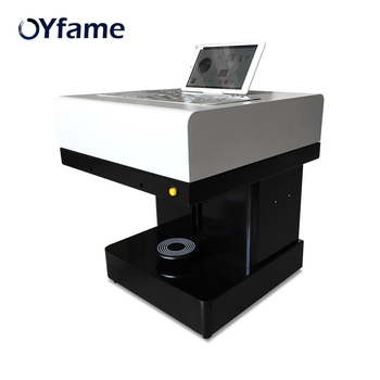 OYfame Coffee Printer Automatic DIY Cake Printer Art Printing Machine For Coffee Chocolate Cappuccino Biscuits Candy Printer
