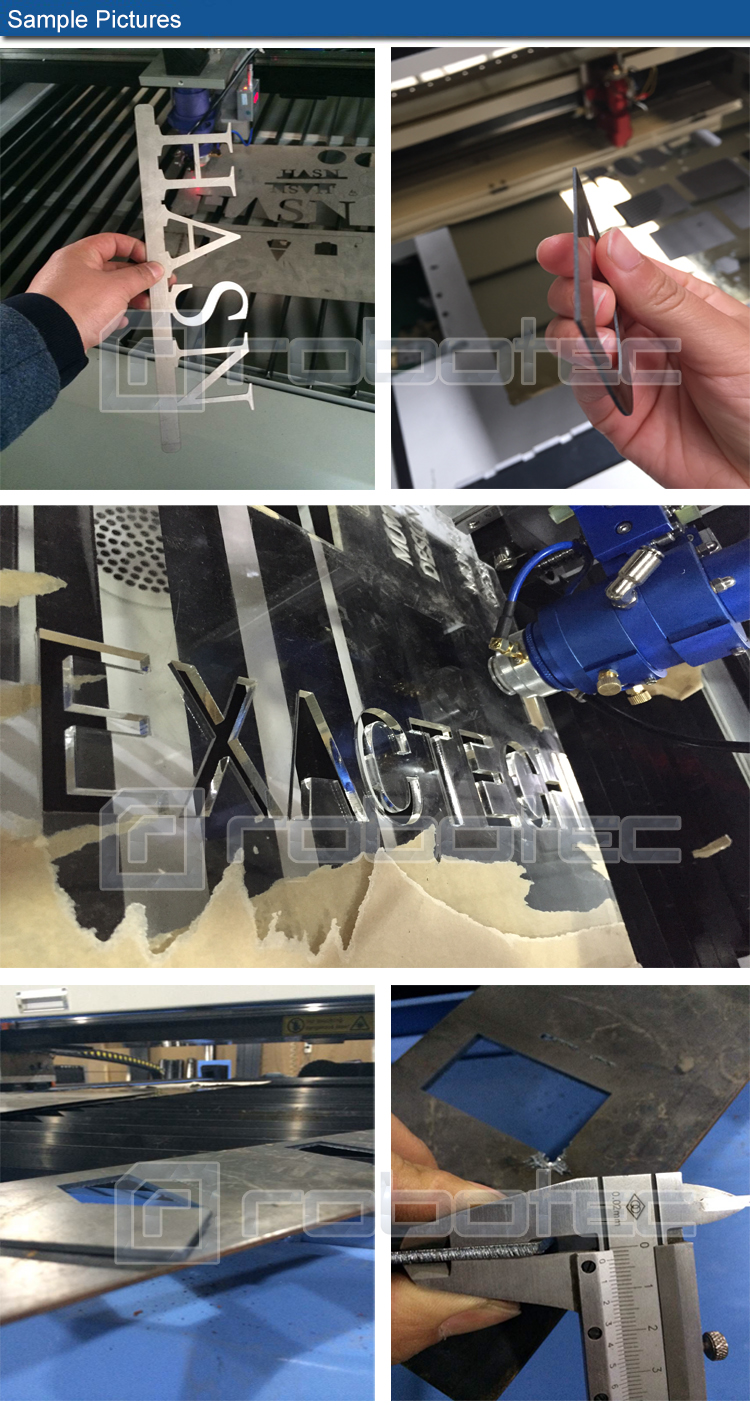 HOT Reci Tube 2mm Stainless Steel Co2 Laser Cutting Machine 1390 Laser Cutting Machine Metal