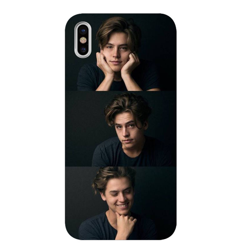 American TV Riverdale Jughead Jones transparent Soft Shell Phone Cover for iPhone 6S 6plus 7 7plus 8 8Plus X Xs MAX 5 5S XR in Phone Pouches from Cellphones Telecommunications