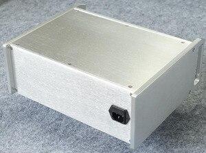 Image 3 - BZ312B シルバー電源ボックスアメリカ標準 Psu シャーシハイファイ PSU エンクロージャ DIY ケース