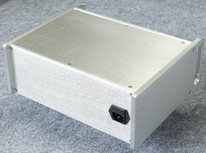 Image 3 - BZ312B srebrny generator amerykański standard obudowa PSU HIFI PSU obudowa DIY przypadku