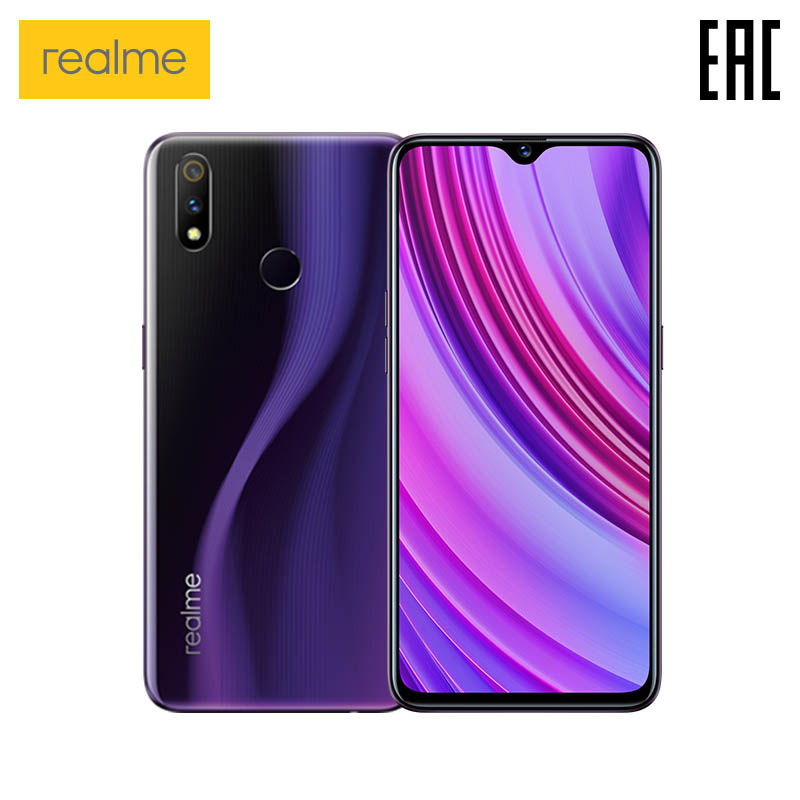 Smartphone Realme 3 Pro 4 + 64 GB Snapdragon 710 AIE, Fast Charging, Dual Camera 16 + 5MP [official Russian Warranty]