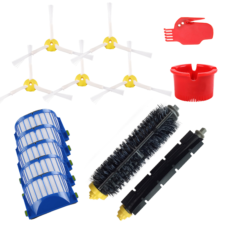 3-Armed Side Brush Replacement For IRobot Roomba 500 600 Series 528 595 620 630 650 660 670 Robot Vacuum Cleaner Accessory