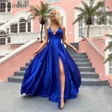 406b0e952 Baijinbai De cuello Halter Top Vestidos Fiesta Vestidos con falda De  bolsillos Sexy una línea vestido