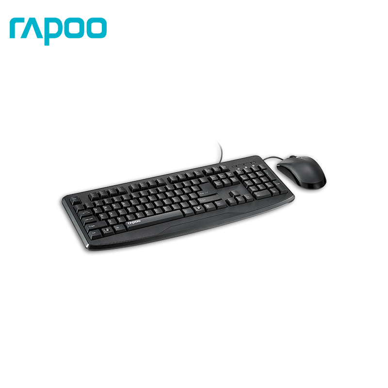 Keyboard and mouse Rapoo NX1720 Officeacc mele f10 pro 2 4ghz air mouse wireless keyboard intelligent voice