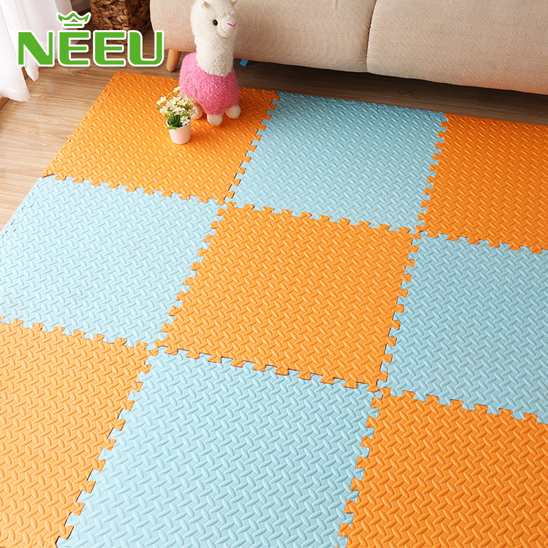 and Kids Play LOT Large EVA Foam Waterproof Exercise Mat for Home Workout Yoga