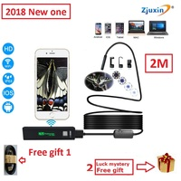 2M WIFI Endoscope New Camera 8mm HD Lens USB Iphone Android Endoscope Tablet Wireless Endoscope Wifi