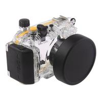Meikon 40M Waterproof Underwater Camera Housing Case Bag for Canon S110 WP DC47 Waterproof Underwater Housing Case for Camera