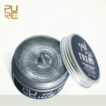 Dye Trend Grandma Gray Color Easy DIY One Time Hair Color Wax 100ml Instrant Hair Colour Hair Care Hair Styling Products