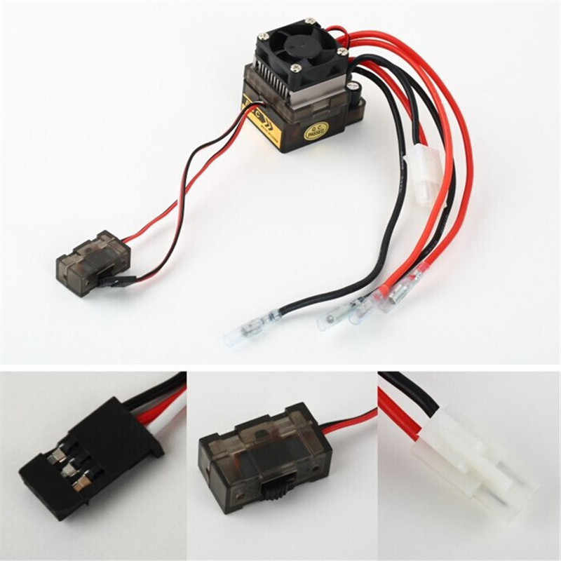 7.2 V-16 V 320A High Voltage ESC Brushed Speed Controller RC Auto Vrachtwagen Buggy Boot Voor RC Auto boart 1/8 1/10