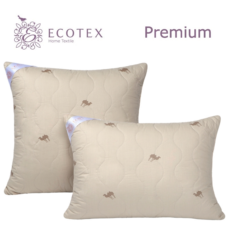 Pillow Caravan collection Premium. Production company Ecotex(Russia). pillow fiber collection comfort production company ecotex russia