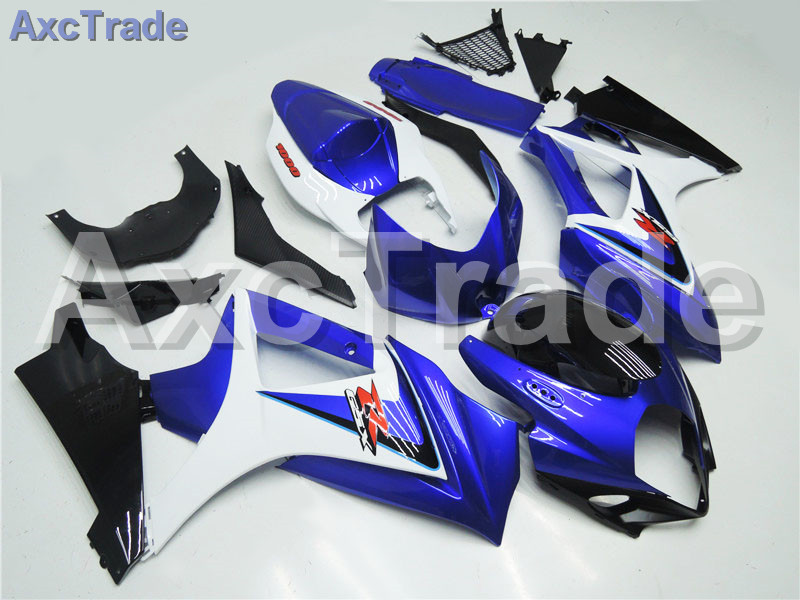 Motorcycle Fairings For Suzuki GSXR GSX-R 1000 GSXR1000 GSX-R1000 2007 2008 07 08 K7 ABS Plastic Injection Fairing Kit Blue A336 abs plastic fairing kit for suzuki gsxr1000 2007 2008 k7 gsxr 1000 07 08 red black moto fairings set cb34 7 gifts